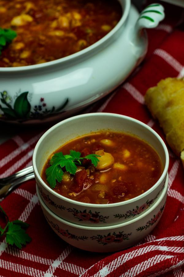 serbian bean soup vegan