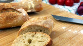 Crispy, Vegan French Baguette