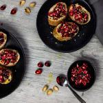 Cranberry Granatapfel Bruschetta