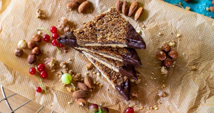 Vegan Nut Bars - German Nut Corners veganized