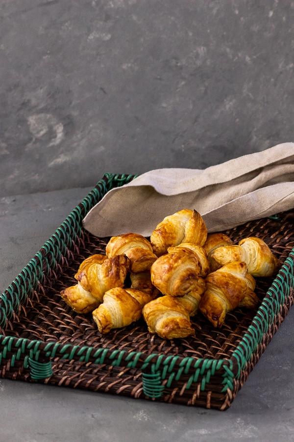 vegane chocolate croissants in under 20 min