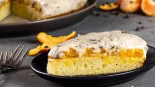 Vegan Marshmallow Fluff Cake with Chocolate