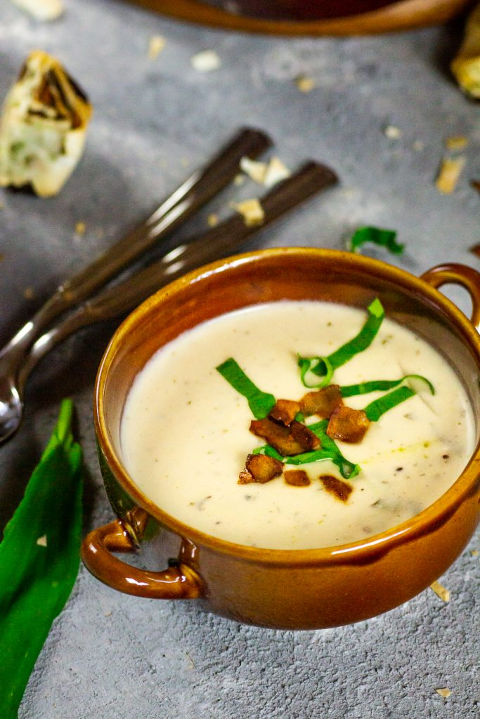 vegane-bärlauch-suppe