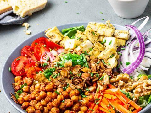 American, Vegan Cobb Salad