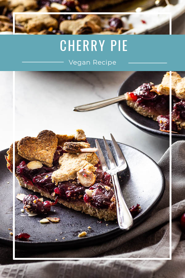 Vegan cherry pie