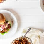 Vegan Sloppy Joe's with Tahini Coleslaw wfpb