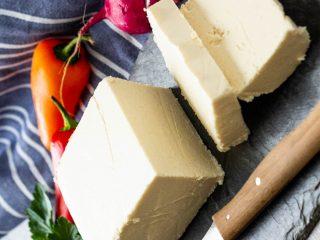 veganer feta käse
