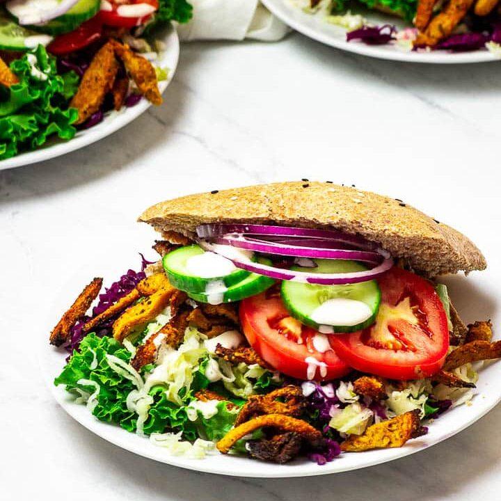 Vegan Doner Kebab Sandwich