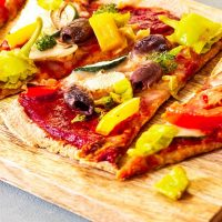 Best Vegan Pizza on a Baking Stone