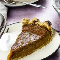 Easy Vegan Pumpkin Pie (Whole Grain, Wfpb)