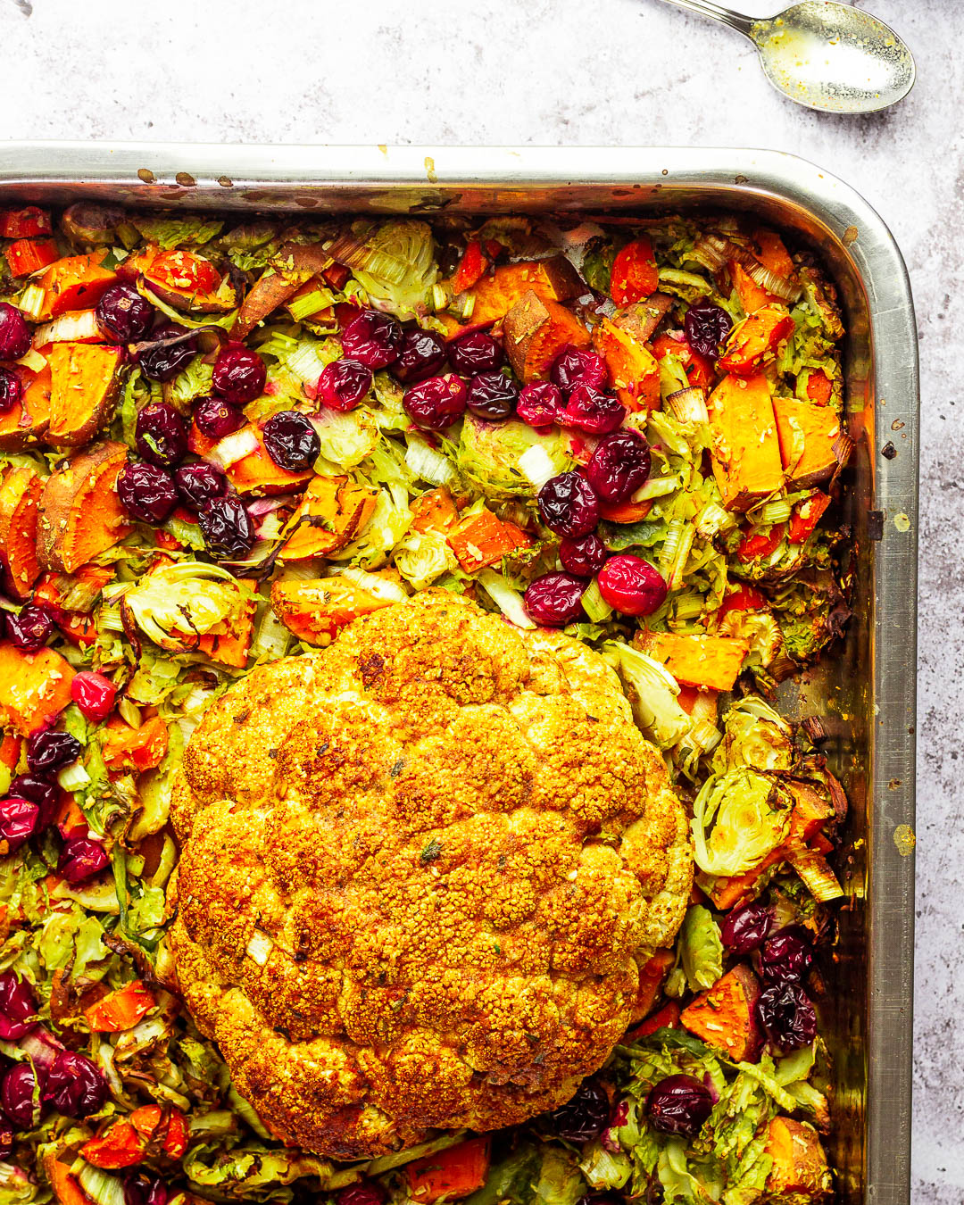 Vegan and Oil-free Low Carb Veggie Stuffing for your next holiday menu on Thanksgiving or Christmas perfect as a side dish.