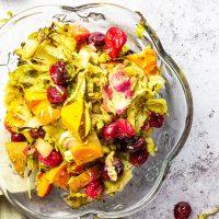 Veggie Stuffing Recipe for Thanksgiving (Vegan, Low Carb, gf)
