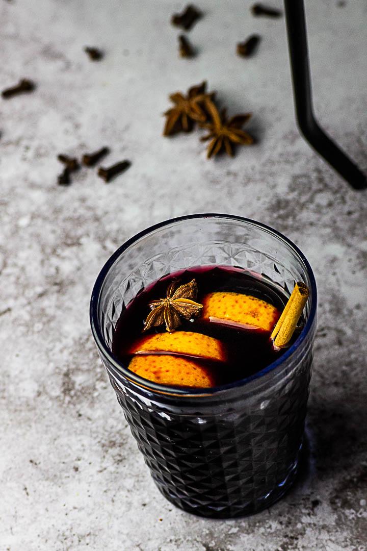 Homemade Mulled wine (glühwein)