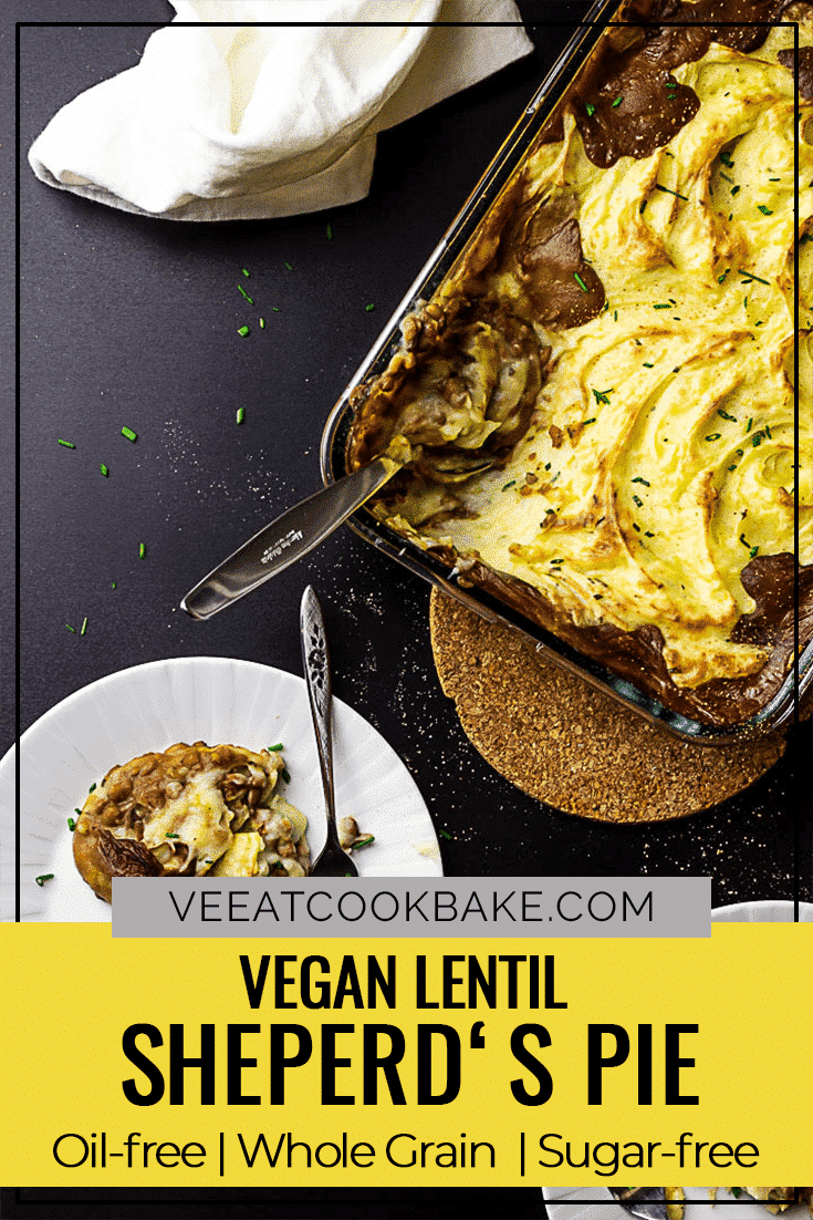 Vegan (wfpb) sheperds pie