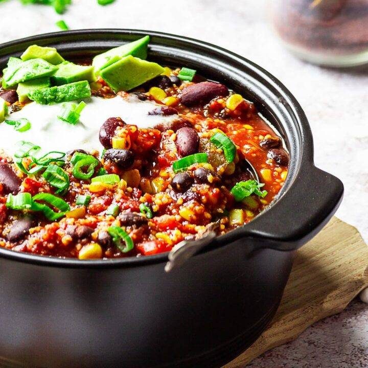 Best vegan Chili (wfpb) - authentic and quick