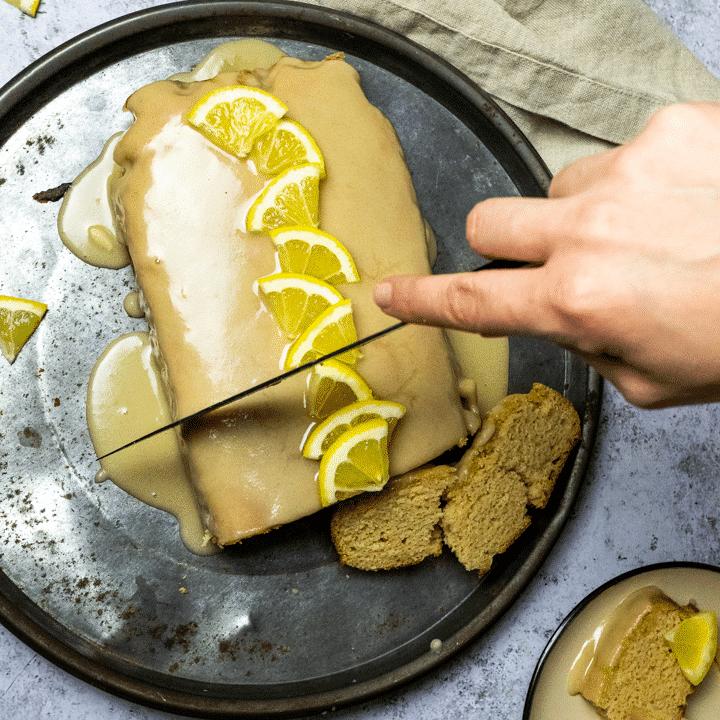 Vegan Lemon Bread (wfpb Copycat of Starbucks Lemon Loaf)